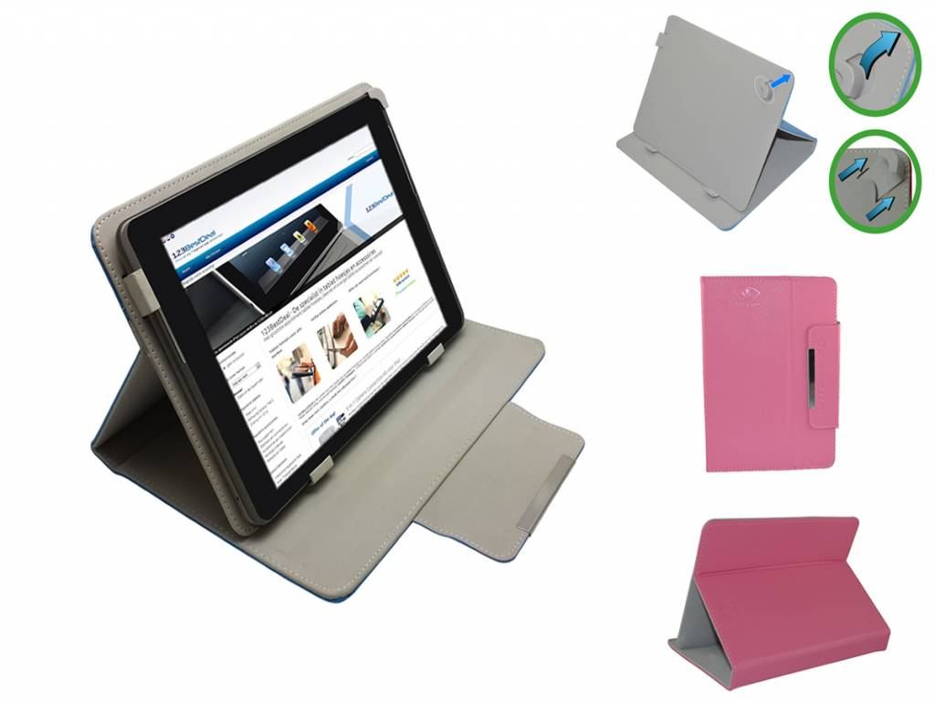 Universele 7 inch Diamond Class Case voor Nha tablet 7 inch