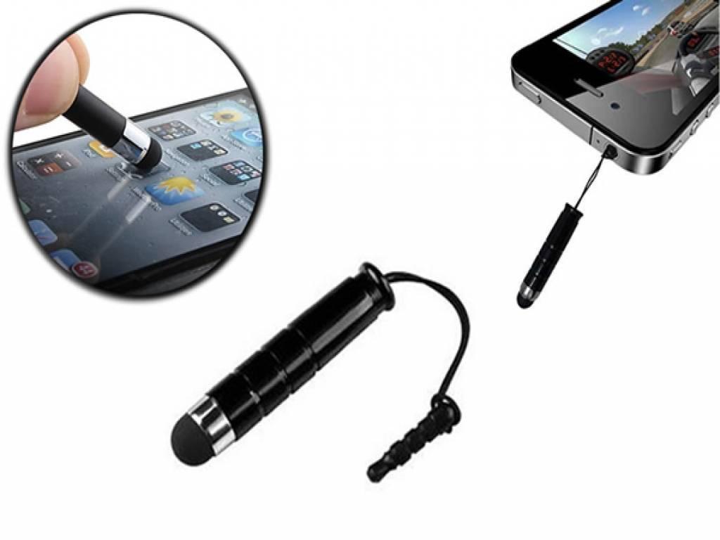 Mini styluspen kleur zwart, geschikt voor Fairphone Smartphone